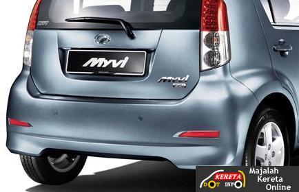 perodua myvi facelifted 2008 hatchback