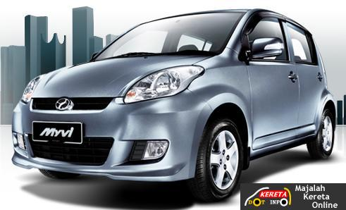 THE NEW PERODUA MYVI Facelifted 2008 - Not as beautiful as leaked picture