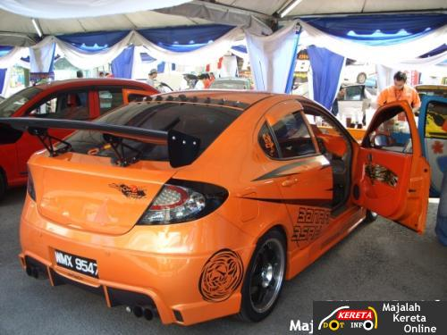 MODIFIED PROTON GEN 2 WITH CUSTOM BODYKIT & PERDANA V6 WITH MODIFIED