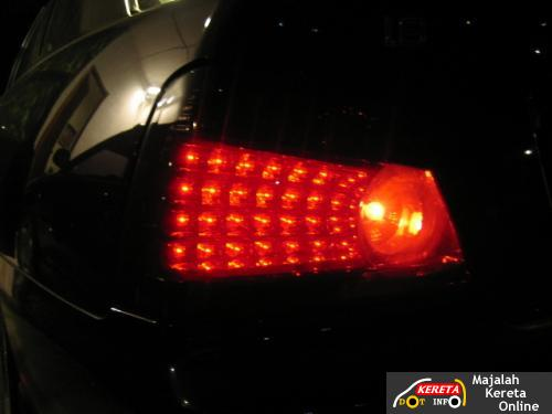 proton waja tail lamp led