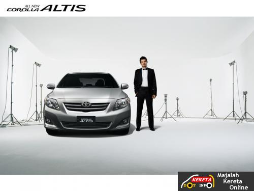 THE ALL NEW TOYOTA COROLLA ALTIS 2008 - THE SPORTY + LUXURY