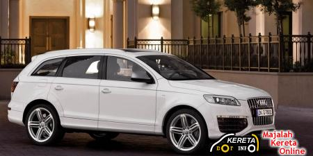 2009 Audi Q7 V12 TDI SUV WITH 5.5 SECONDS ACCELERATION 0-100 KM/H