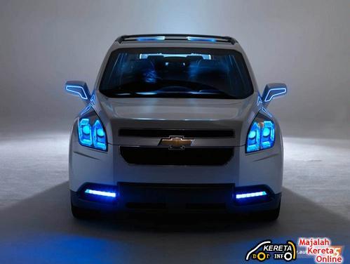 Chevrolet Orlando Concept at Paris Motor Show