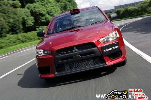 THE EVOLUTION OF MITSUBISHI LANCER EVOLUTION