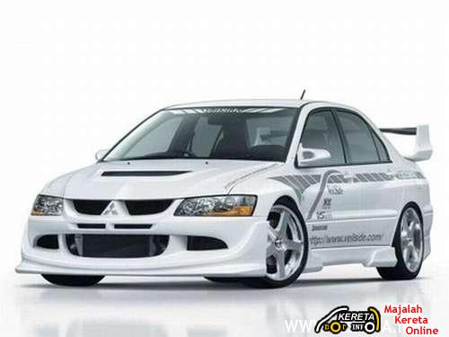 MITSUBISHI LANCER EVOLUTION VIII. THE EVOLUTION OF MITSUBISHI LANCER