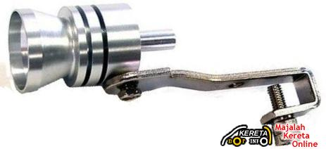 EXHAUST TURBO WHISTLE AIR VALVE - MAKE YOUR CAR SOUNDS LIKE A TURBO CHARGER CAR.