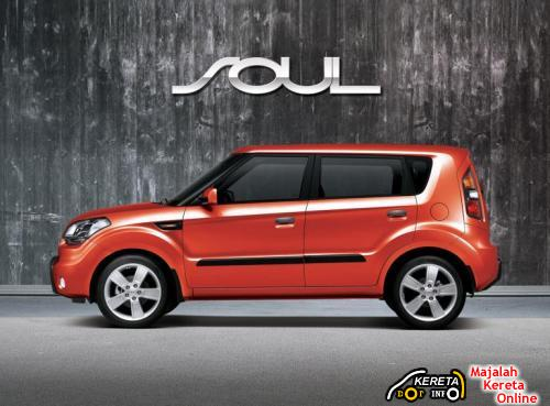 KIA SOUL - a brand new urban crossover car 3
