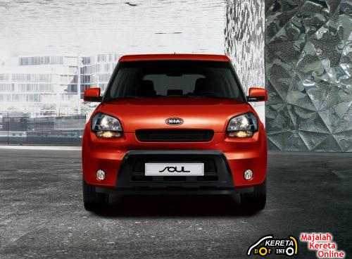 KIA SOUL - a brand new urban crossover car 5