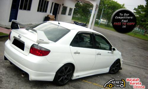 modified toyota vios 04