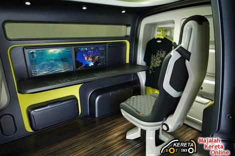 NISSAN NV200 concept van - the extendable van