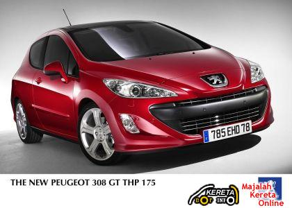PEUGEOT 308 GT NEWLY LAUNCHED IN MALAYSIA