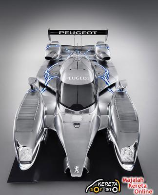 PEUGEOT 908 HDi FAP HYBRID RACE CAR