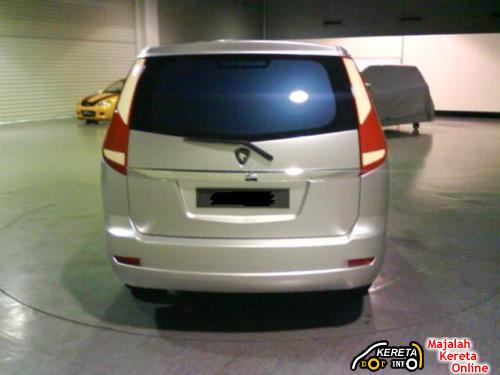ACTUAL PROTON MPV 2009 CLAY MODEL PICTURE LEAKED