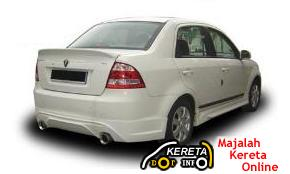 proton new saga blm 2008 body kit