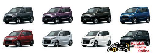 Suzuki Wagon R and Suzuki Wagon R Stingray 4