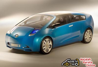 TOYOTA HYBRID X CONCEPT CAR - THE FUTURISTIC ECO CAR