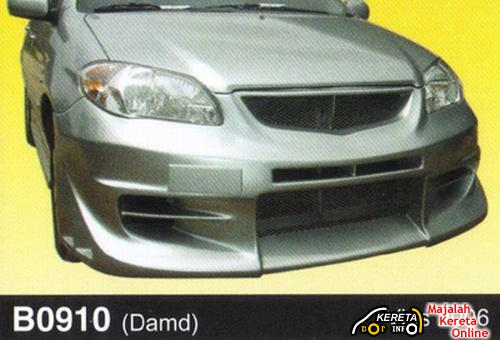 MODIFIED TOYOTA VIOS - MAKE UP WITH STYLE VIOS BODY KIT + PICTURE + PRICE RANGE