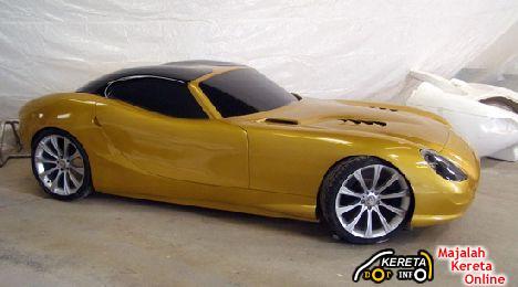 Biodiesel powered sports car Trident Iceni 1