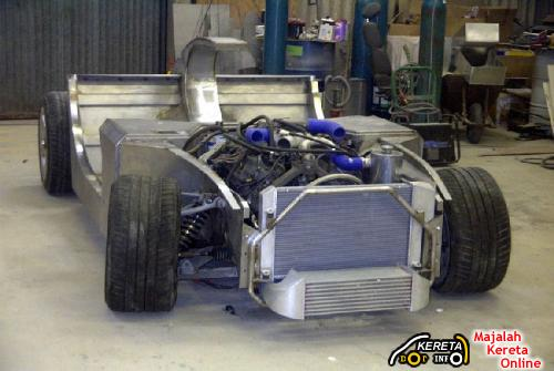 Biodiesel powered sports car Trident Iceni 2