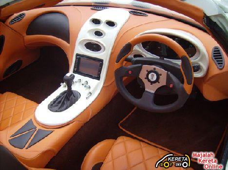 Biodiesel powered sports car Trident Iceni 3