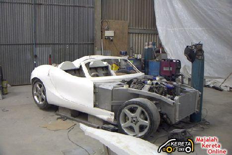 Biodiesel powered sports car Trident Iceni 5