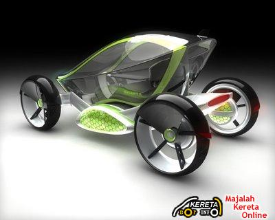 INSECTA CONCEPT CAR - THE GREEN ELECTRIC ENGINE