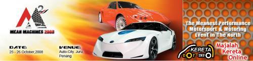 MALAYSIA AUTO SHOW & EXHIBITION - MEAN MACHINES 2008