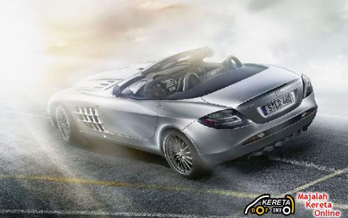 Mercedes-Benz SLR McLaren Roadster 722 5