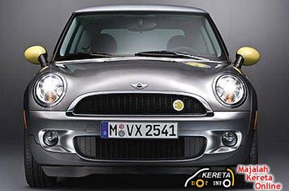 MINI E ELECTRIC POWERED BY BMW MINI 5