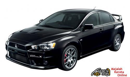 Mitsubishi Lancer EVO X GSR Premium Edition 2