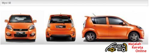 PERODUA NEW MYVI SE SPECIAL EDITION - COMPLETE DETAILS + PICTURE + PRICE + SPECIFICATION