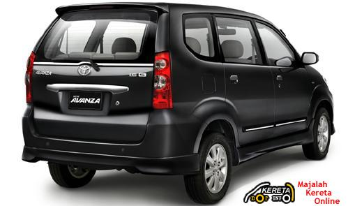 The new avanza have some different at the fog lamp, chrome ornament on