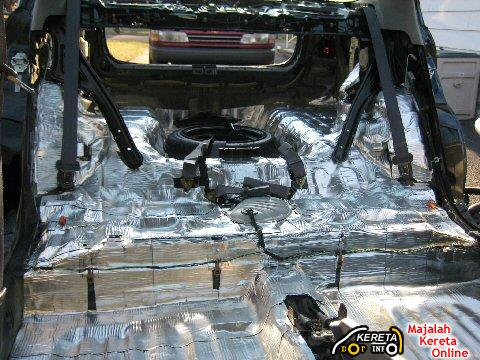 sound proofing materials car
