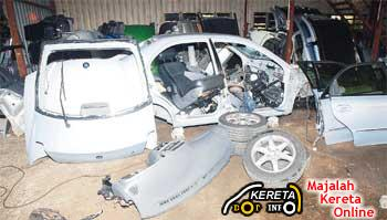 STOLEN CAR AT KAMPUNG BARU SUBANG - COBRA STOLEN VEHICLE RECOVERY SECURITY SYSTEM ABLE TO TRACK THE STOLEN CAR