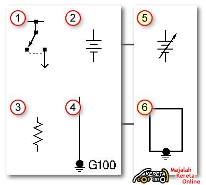 automotive wiring diagrams basic symbols auto / car wiring diagram - basic  circuit for installation - relay connection - spot light