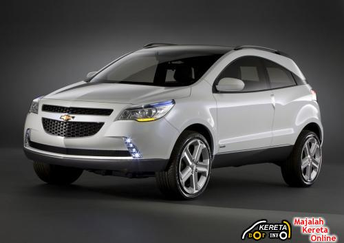 CHEVROLET GPiX - DEVELOPED BY GENERAL MOTORS DESIGN 1
