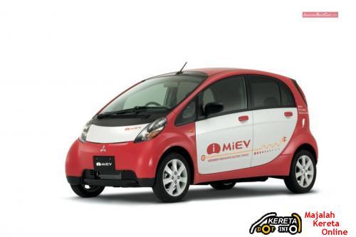 MIEV - MITSUBISHI ELECTRIC CAR WILL BE AT IPTC KL