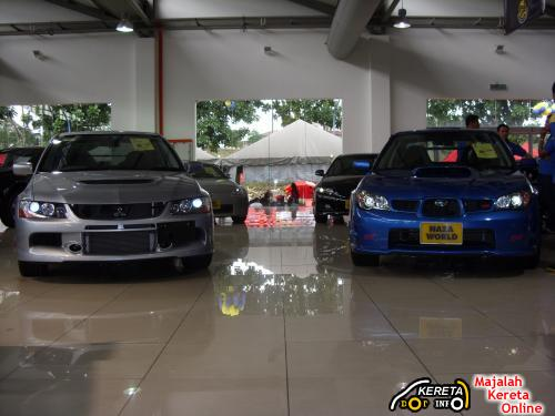 mitsubishi evolution vs subaru imprezza