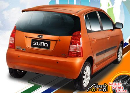 NAZA SURIA / KIA PICANTO - SPECIFICATION & REVIEW