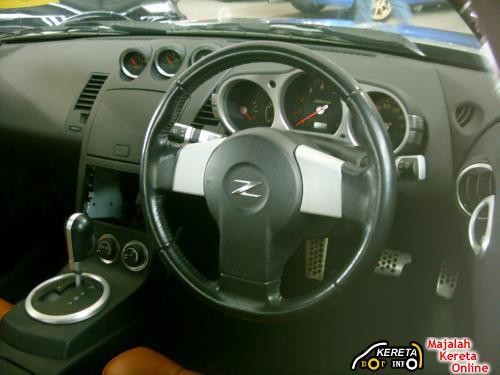 nissan fairlady 350z interior