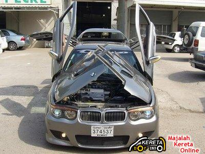 nissan maxima extreme modified bmw 7 series bodykit