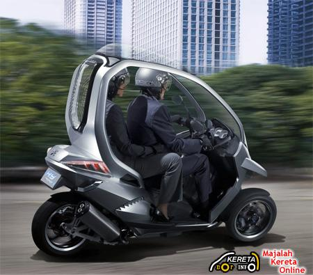 what is scooter car? ' the popular mp3 piaggio & peugeot+ hybrid