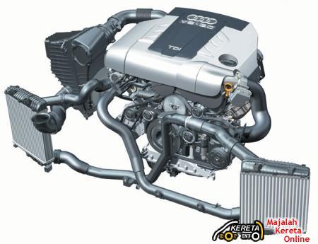 2009 Porsche Cayenne Turbodiesel Engine