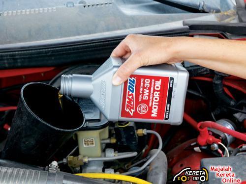 Fill Engine Oil