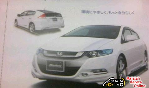 HONDA INSIGHT HYBRID 2009 SPECIFICATION & BROCHURE LEAKED
