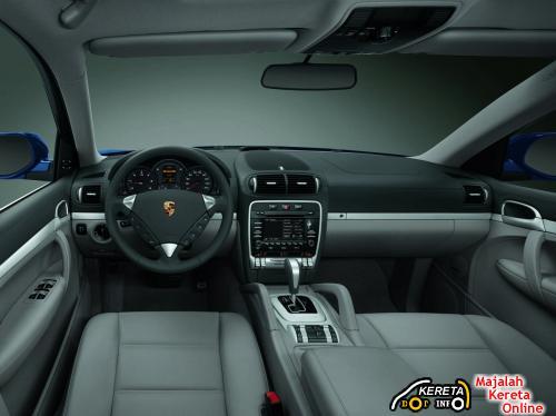 2009 Porsche Cayenne Turbodiesel Interior