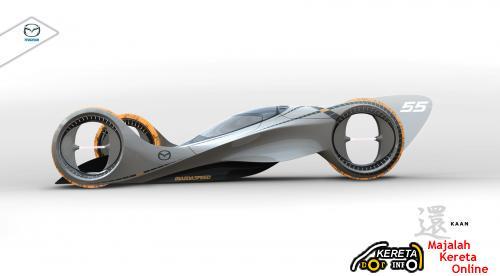 MAZDA KAAN - MAZDA CONCEPT E1 RACE CAR - WINNER FOR LA AUTOSHOW DESIGN CHALLENGE