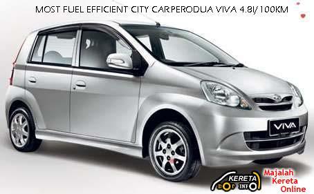 Perodua VIVA fuel efficiency