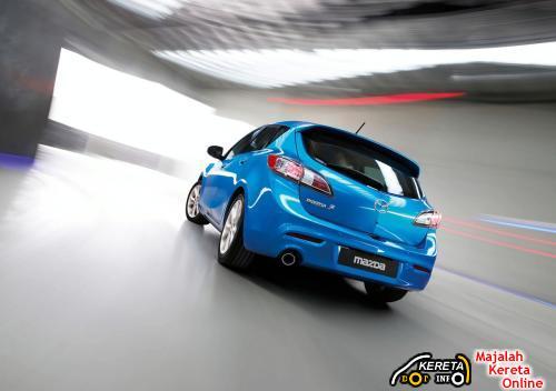 Mazda 3 Rear View