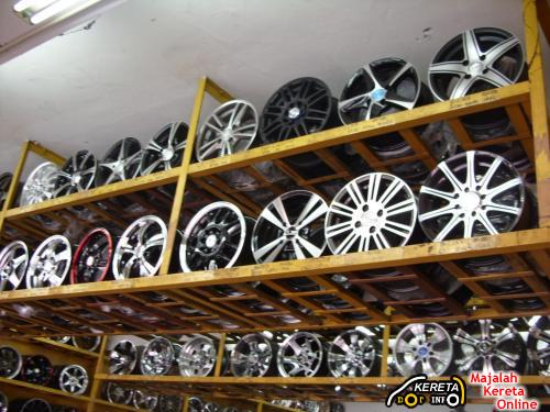 SPORT RIMS HEAVEN AT KLANG - WHY NEED TO BUY SPORT RIM? THE EFFECTS OF ALLOY WHEEL - tyre code & price range